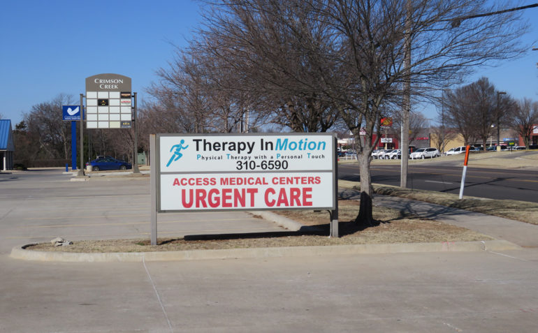 Therapy In Motion Physical Therapy in East Norman, OK Sign
