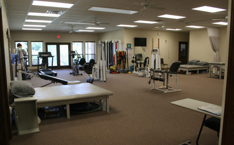 Therapy In Motion Physical Therapy in Newcastle, OK Clinic Interior