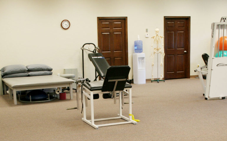 Therapy In Motion Physical Therapy in Newcastle, OK Mat Table