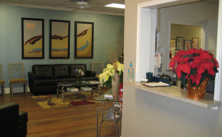 Therapy In Motion Physical Therapy in Norman, OK Reception Area