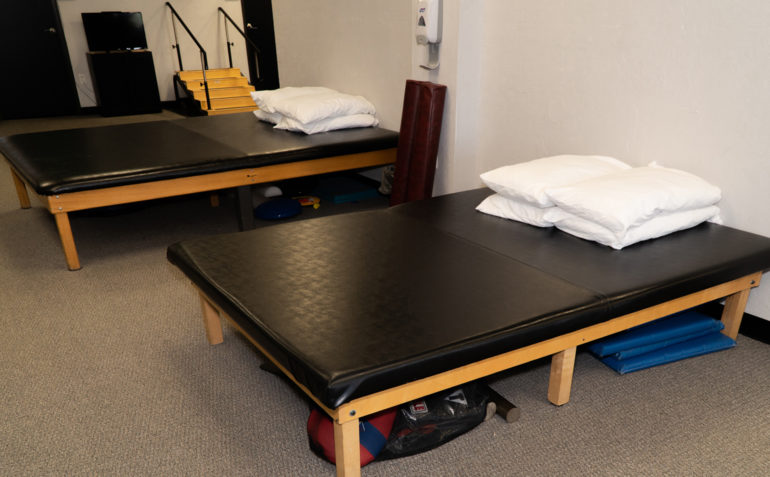 Therapy In Motion Physical Therapy in Edmond, OK Large Treatment Tables
