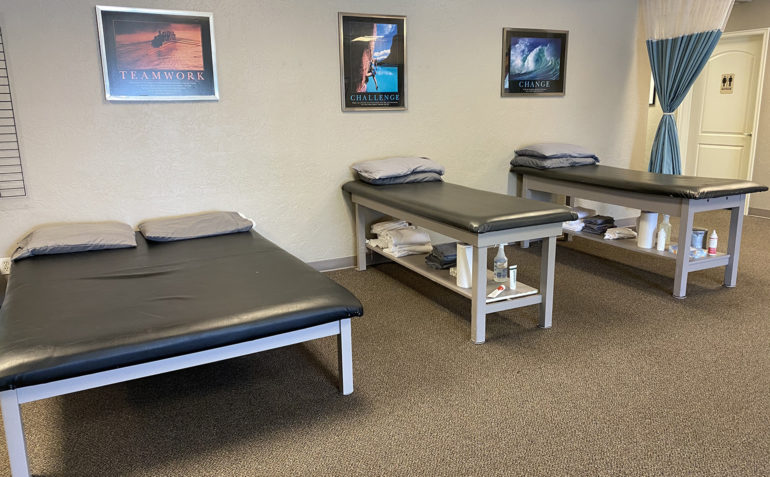 Therapy In Motion Physical Therapy in Norman, OK Treatment Tables
